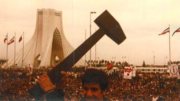 Oslava 1. máje v Teheránu, 1979 - Sputnik Česká republika
