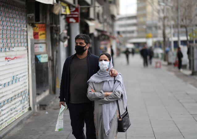 Lidé v Teheránu