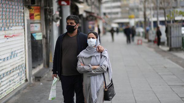 Lidé v Teheránu - Sputnik Česká republika