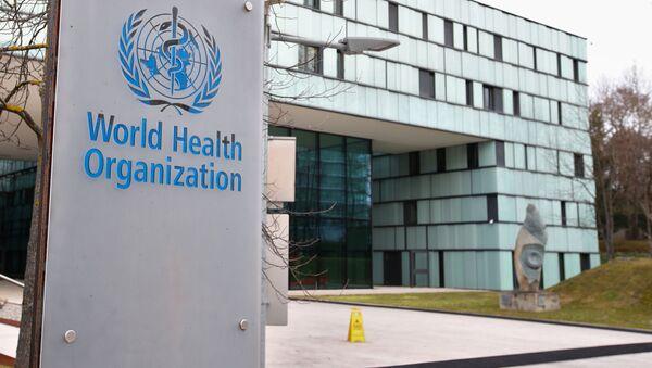 Světová zdravotnická organizace - Sputnik Česká republika