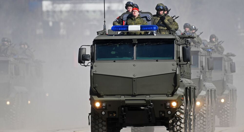 Obrněné vozidlo Tajfun-K