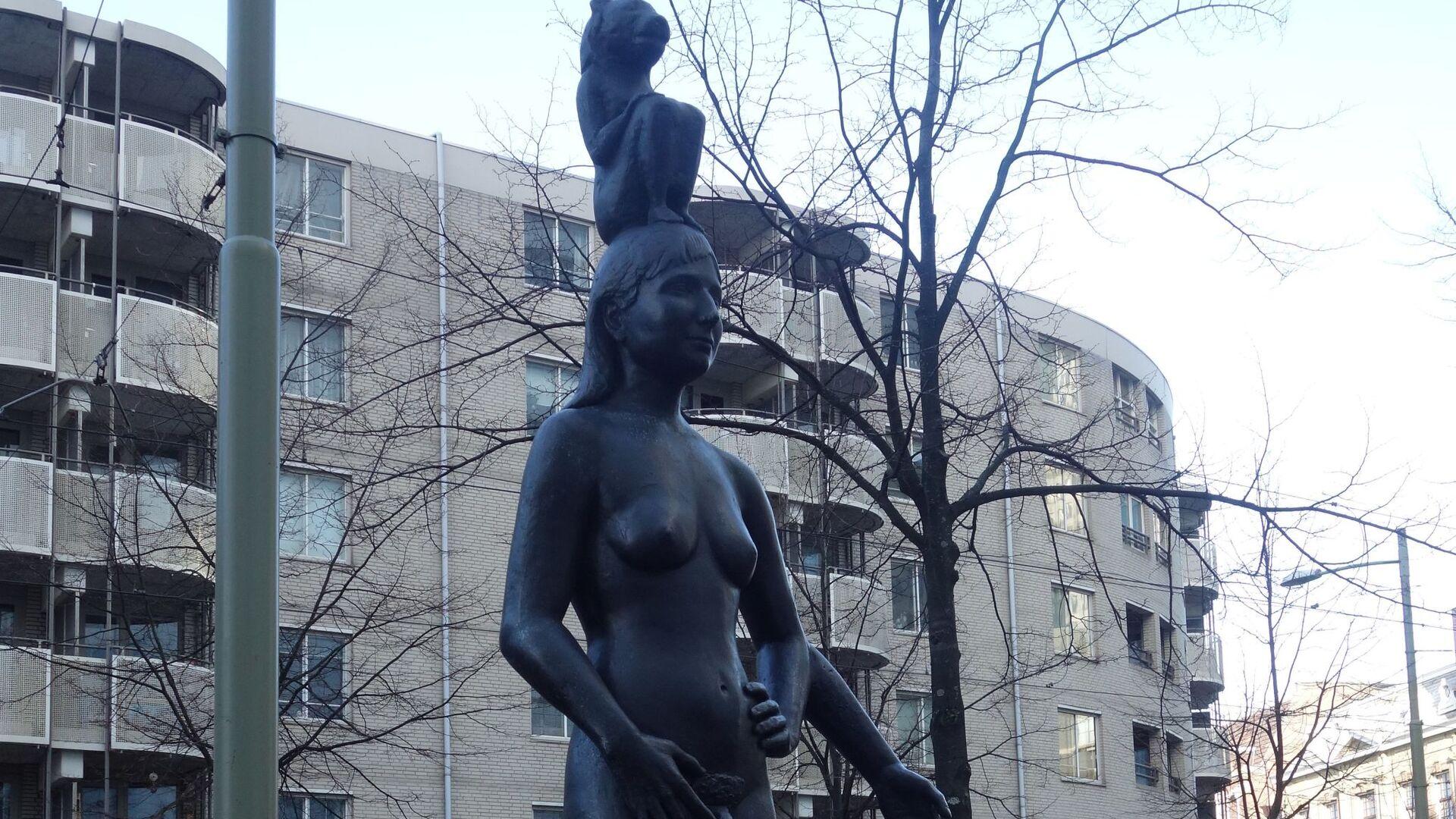 Socha Femmy Otten v Haagu - Sputnik Česká republika, 1920, 07.05.2021