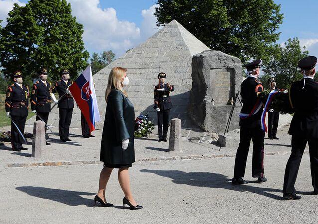 Prezidentka Čaputová si uctila památku Milana Rastislava Štefánika