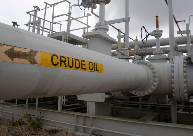 Potrubí a ventily americké národní strategické rezervy ropy
