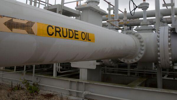 Potrubí a ventily americké národní strategické rezervy ropy - Sputnik Česká republika
