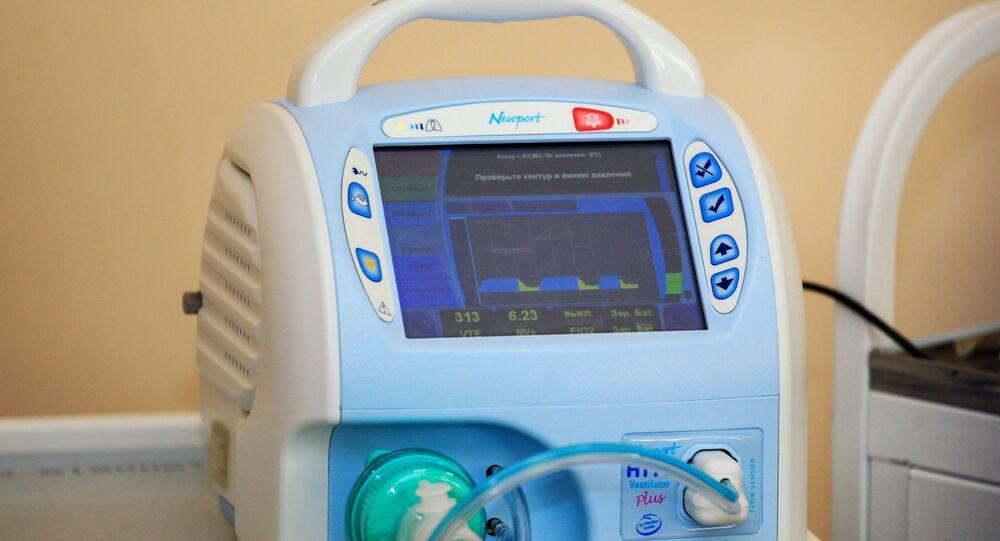 Přístroj na umělou plicní ventilaci