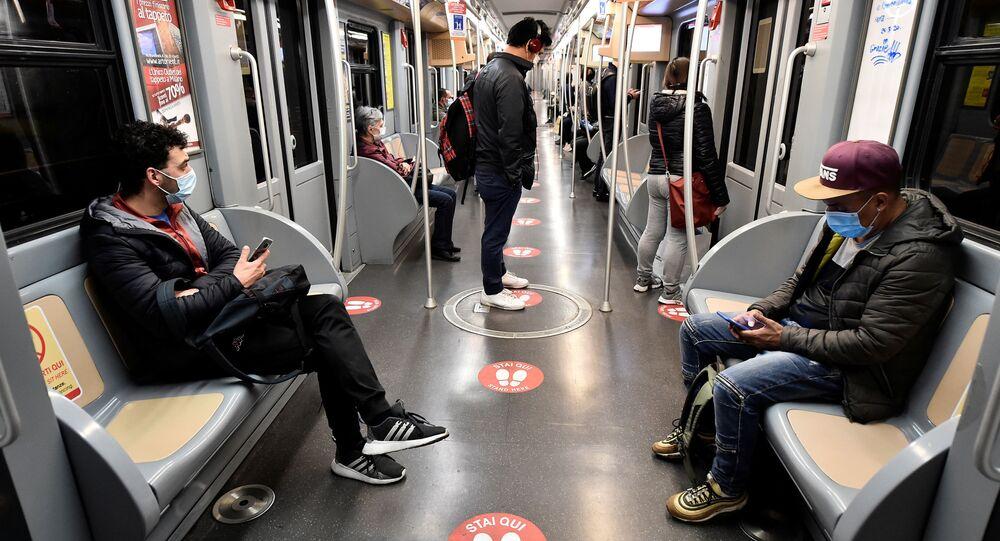 V milánském metru