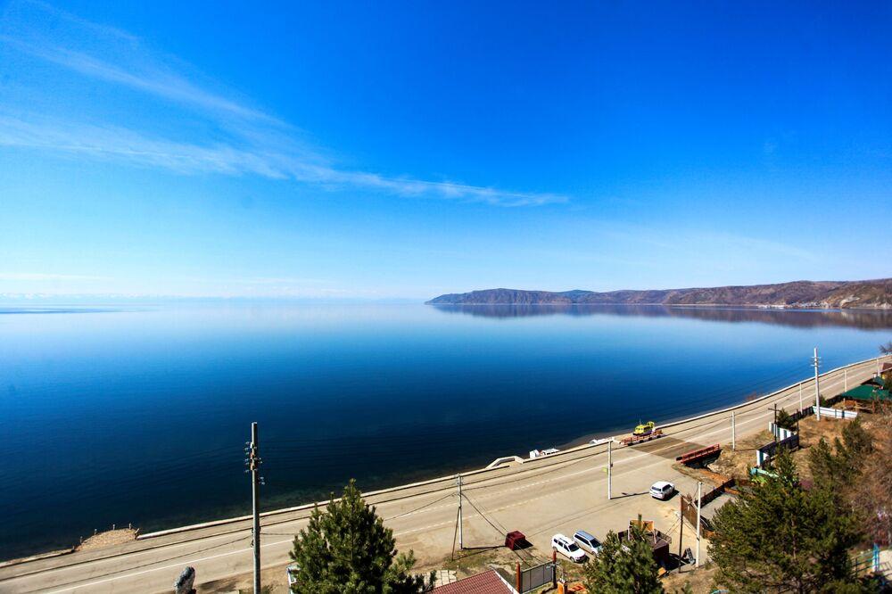 Bajkalské jezero.