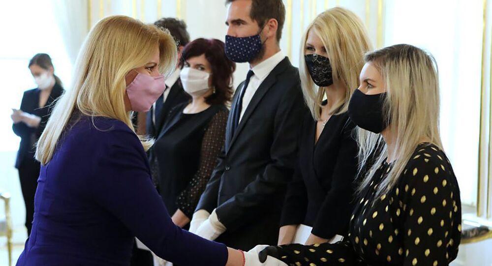Slovenská prezidentka Zuzana Čaputová jmenuje nové soudce