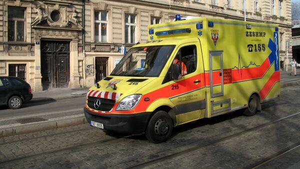 Ambulance v Praze - Sputnik Česká republika