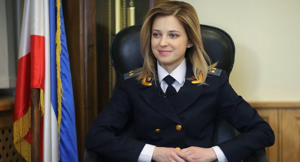 Prokurátorka Republiky Krym Natalja Poklonskaja