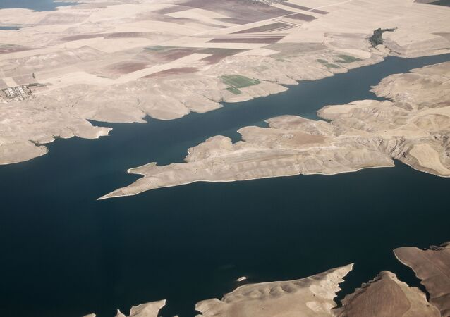 Pohled na řeku Eufrat