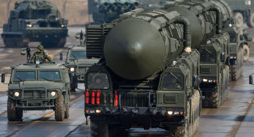 Mezikontinentální balistická raketa Topol-M