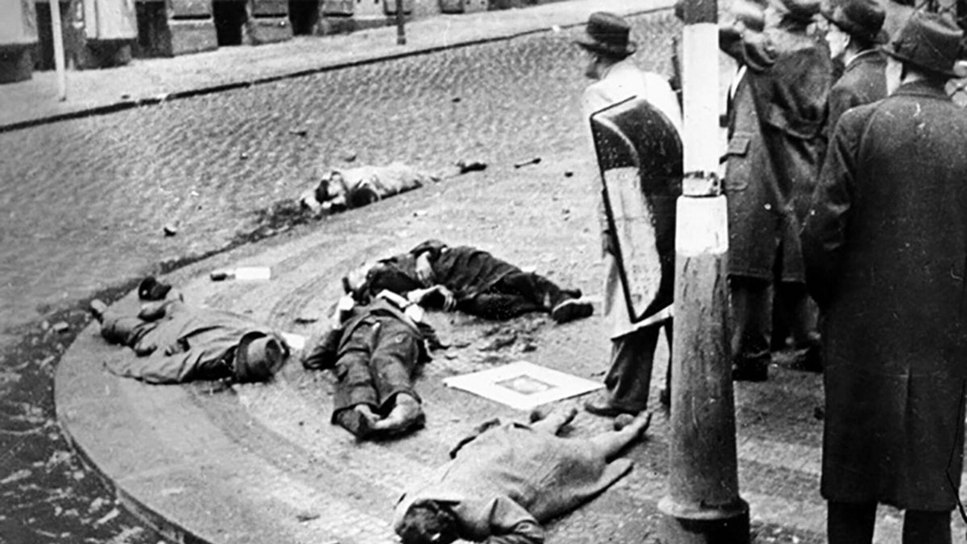 Padlí v boji během pražského povstání - Sputnik Česká republika, 1920, 04.05.2021