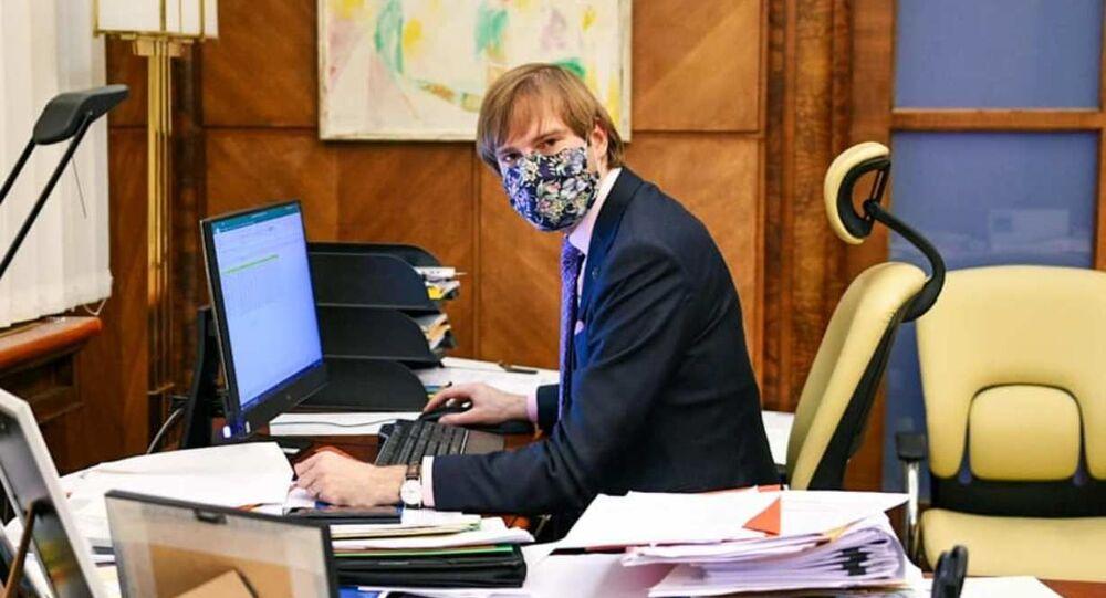 Český ministr zdravotnictví Adam Vojtěch