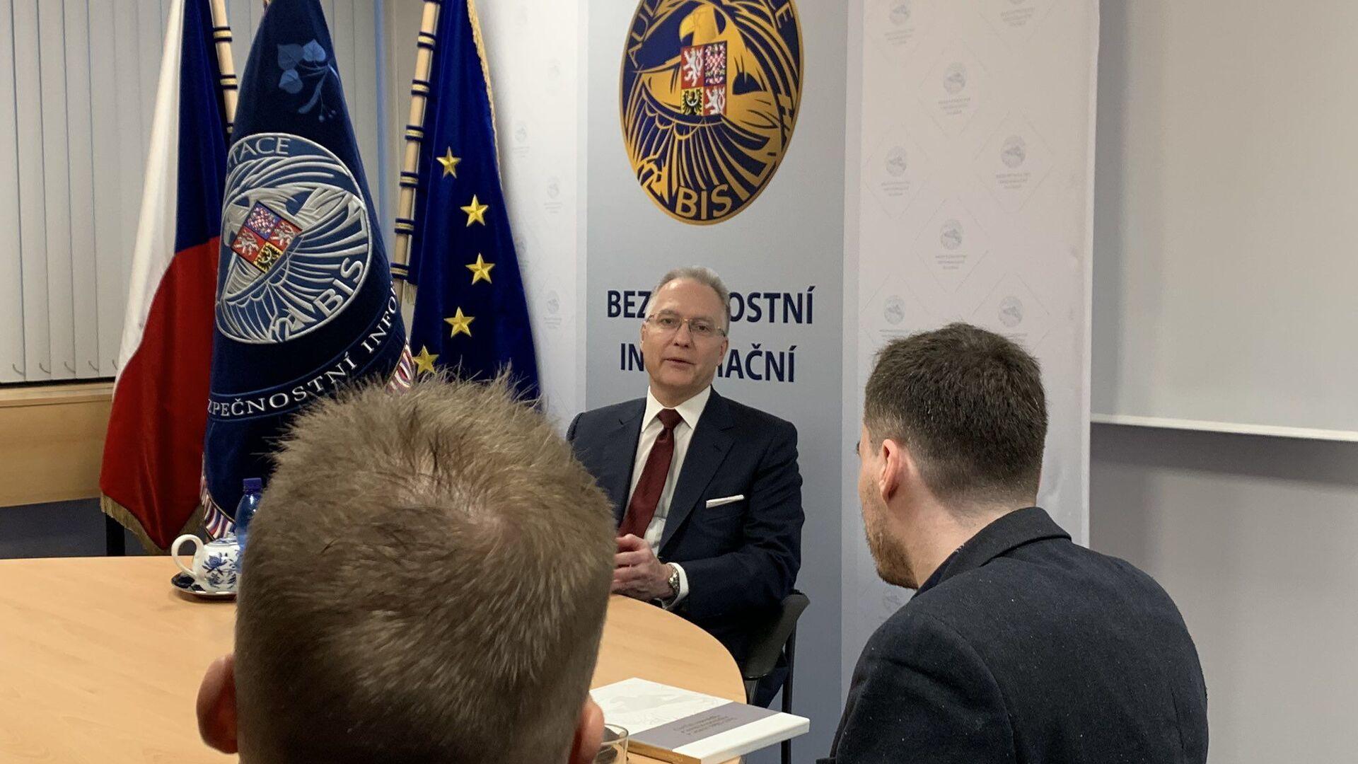 Ředitel české Bezpečnostní a informační služby (BIS) Michal Koudelka - Sputnik Česká republika, 1920, 11.06.2021