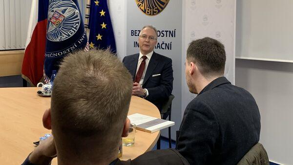 Ředitel české Bezpečnostní a informační služby (BIS) Michal Koudelka - Sputnik Česká republika