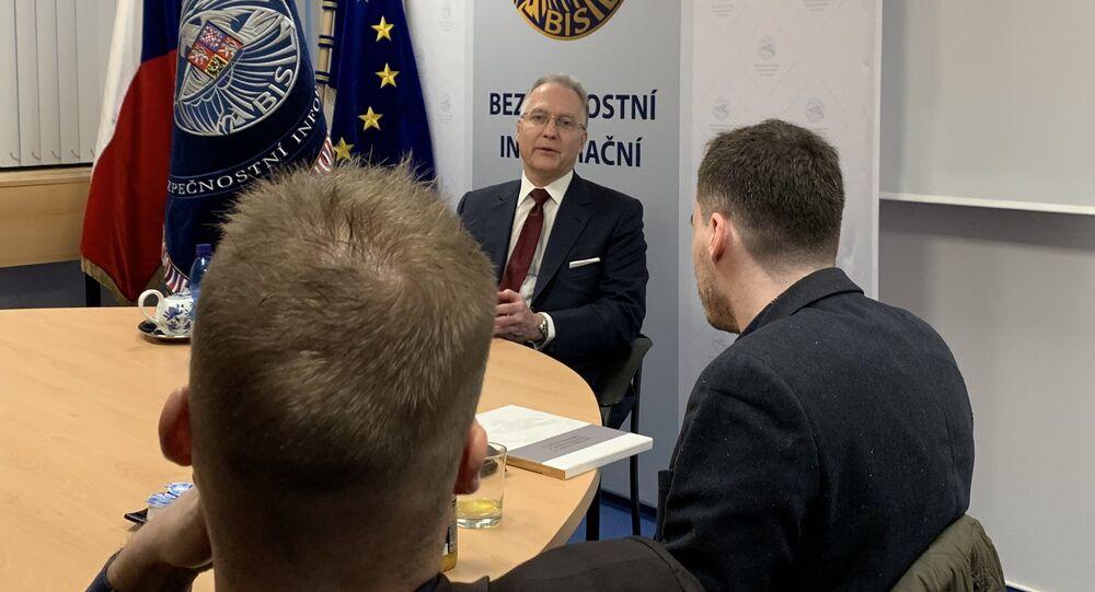 Ředitel české Bezpečnostní a informační služby (BIS) Michal Koudelka