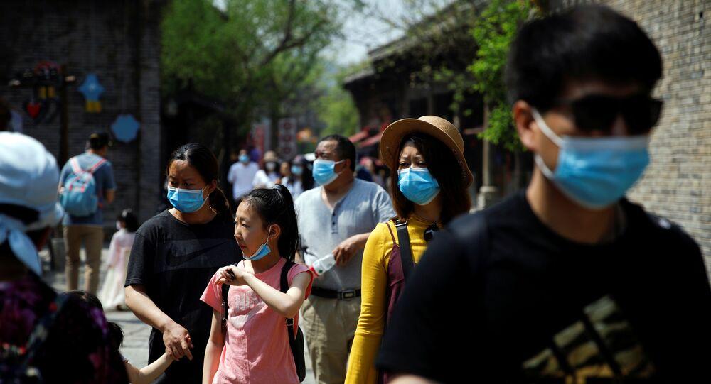 Peking dne 1. května 2020