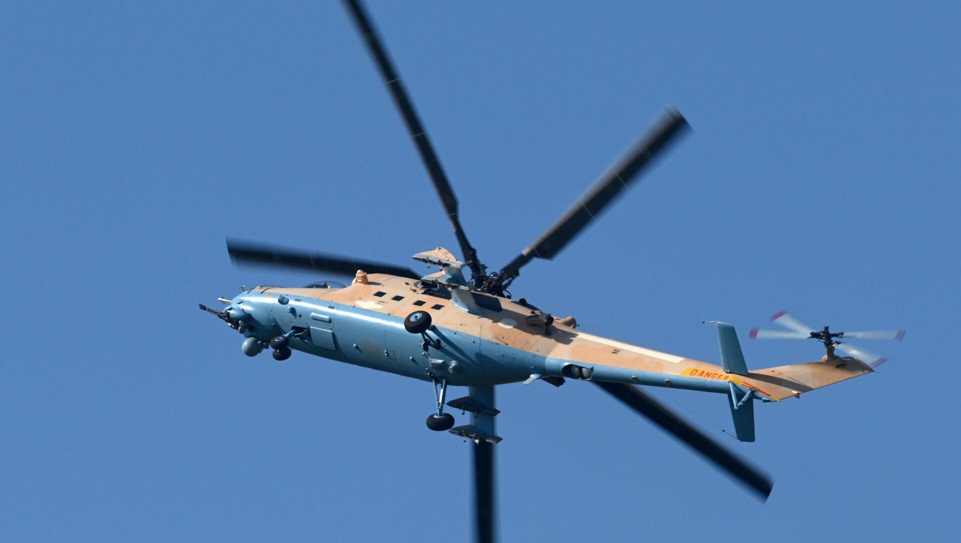 vrtulník Mi-35 - Sputnik Česká republika, 1920, 28.02.2021