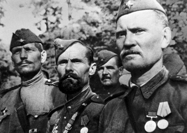 Vojáci Rudé armády během 2. světové války, 1943 - Sputnik Česká republika