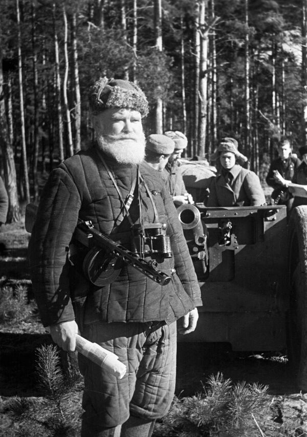 Běloruský partyzán, 1943 - Sputnik Česká republika