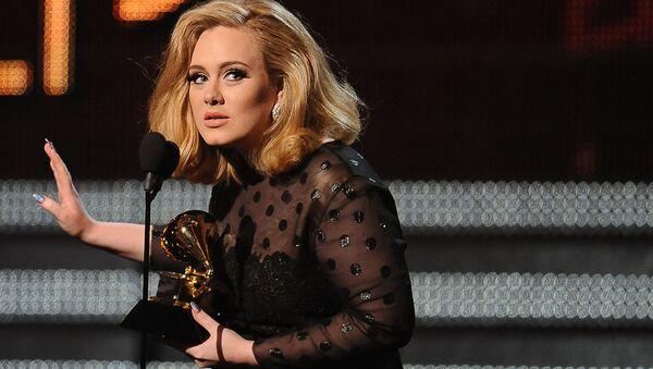 Britská zpěváčka Adele - Sputnik Česká republika