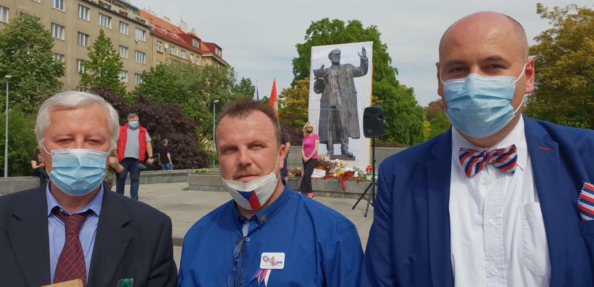 Josef Skála, JiříČernohorský, Robert Vašíček.