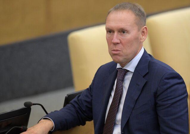 Člen výboru Státní dumy pro bezpečnost a boj s korupcí Andrej Lugovoj