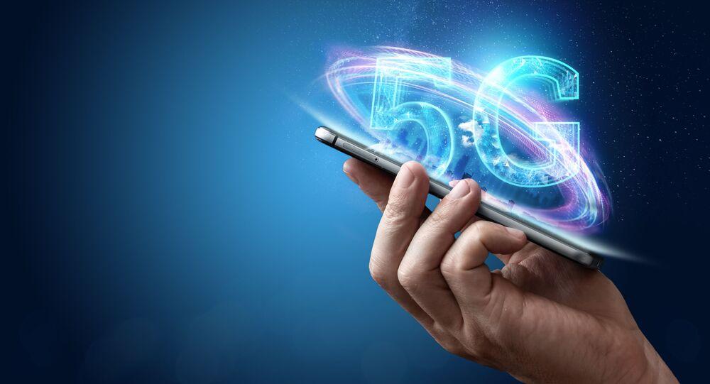 Vizualizace mobilní komunikace 5G