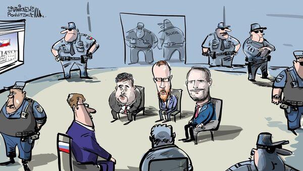 Rusko požádalo policejní ochranu pro svého diplomata - Sputnik Česká republika