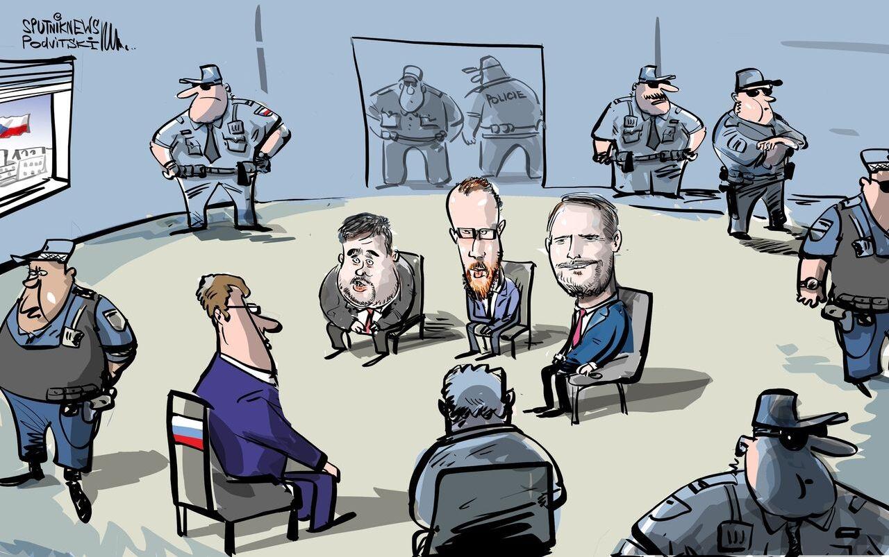 Rusko požádalo policejní ochranu pro svého diplomata