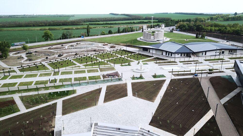 Vojensko-historický muzejní komplex Sambecké výšiny v Rostovské oblasti.