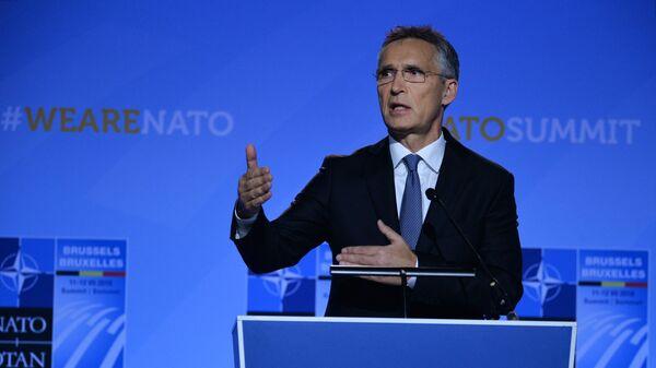 Generální tajemník Severoatlantické aliance Jens Stoltenberg - Sputnik Česká republika