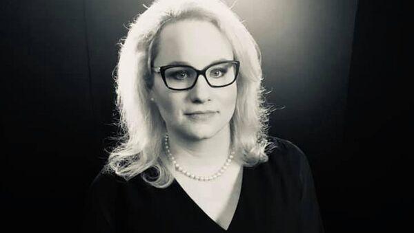 Komentátorka Karolina Stonjeková. - Sputnik Česká republika