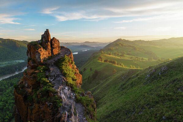 Hora Čertův prst v Altaji - Sputnik Česká republika