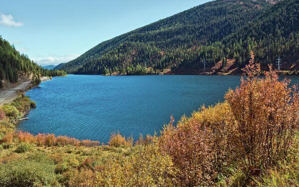 Jezero Cheybekkel v Altajské republice - Sputnik Česká republika