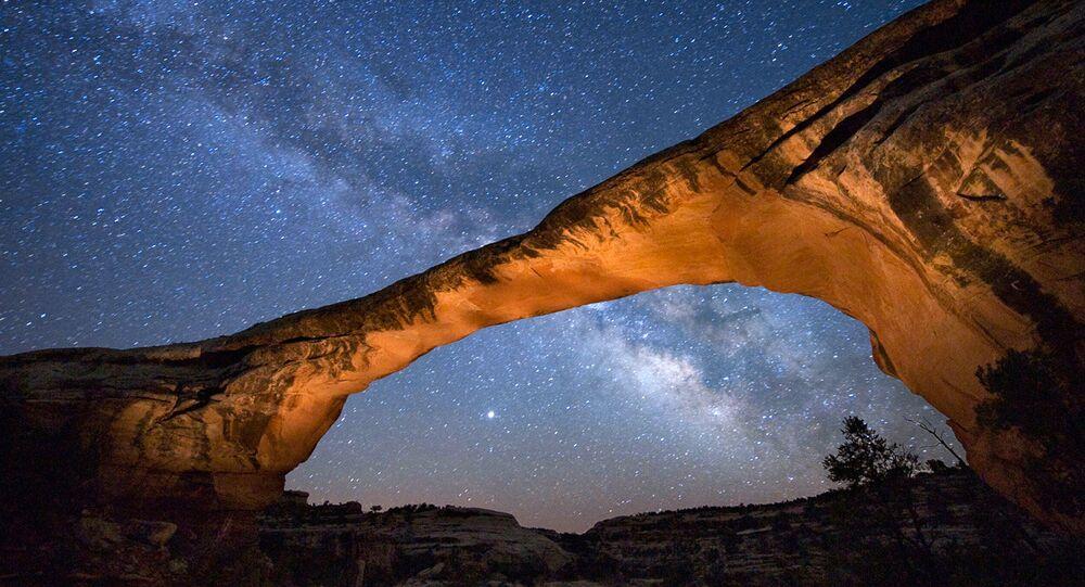 Mléčná dráha. Ilustrační foto