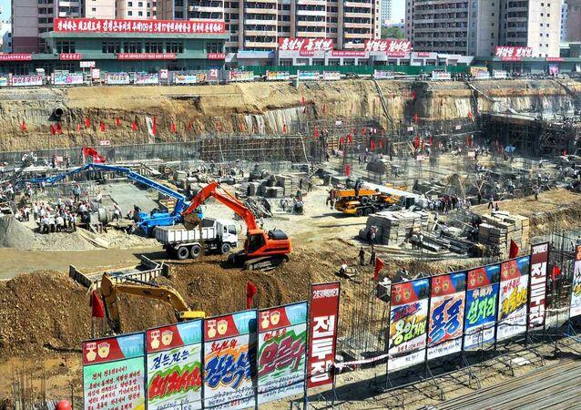 Desítky pum z dob korejské války našli stavbaři při výstavbě nemocnice v Pchjongjangu