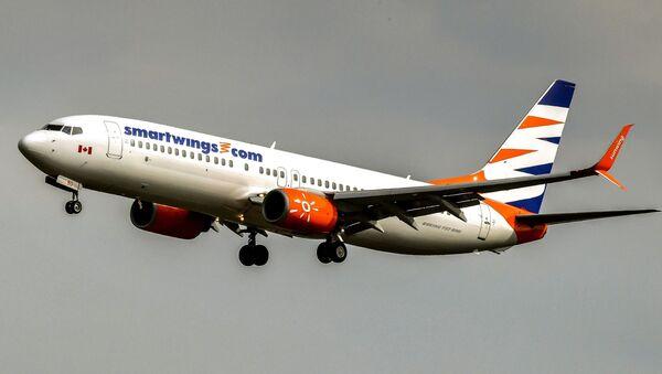 Boeing 737–800 společnosti Smartwings  - Sputnik Česká republika