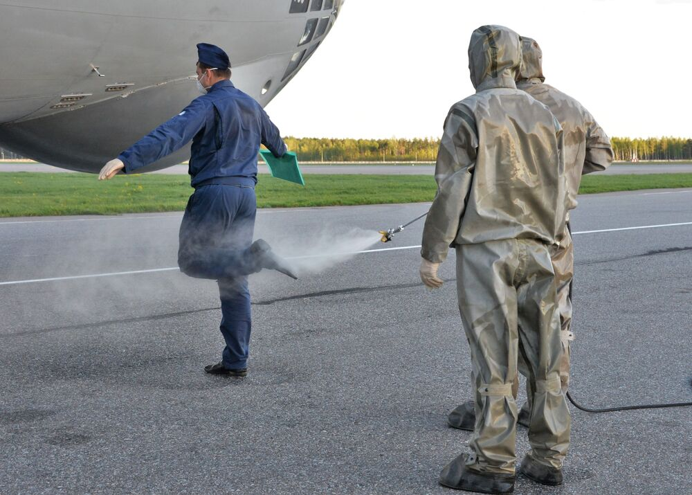 Návrat ruských vojenských odborníků z Itálie