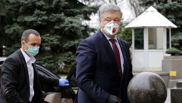 Bývalý ukrajinský prezident Petro Porošenko - Sputnik Česká republika