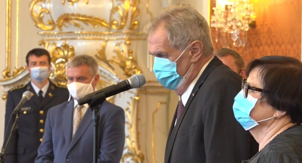 Miloš Zeman jmenuje předsedu Nejvyššího soudu