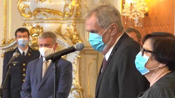 Miloš Zeman jmenuje předsedu Nejvyššího soudu - Sputnik Česká republika