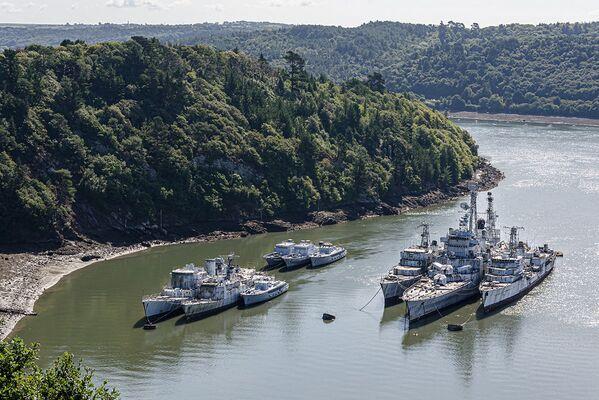 Pohřebiště francouzských vojenských lodí  - Sputnik Česká republika