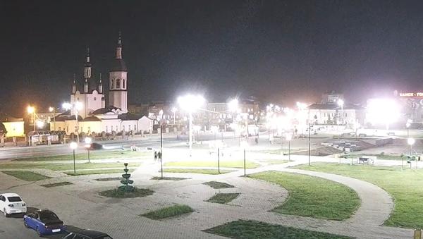 Pád nebeského tělesa na Sibiři se dostal na video - Sputnik Česká republika