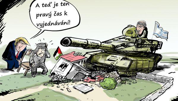 USA vyzvaly Palestinu a Izrael, aby zahájily mírová jednání - Sputnik Česká republika
