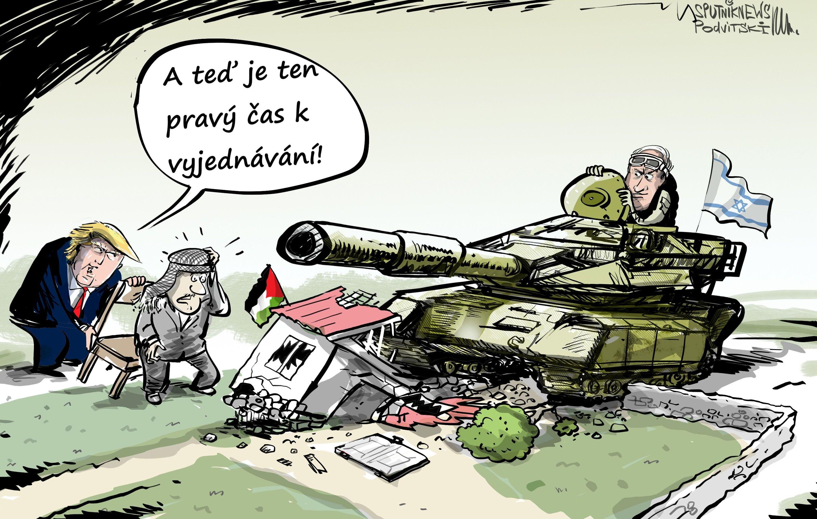 USA vyzvaly Palestinu a Izrael, aby zahájily mírová jednání
