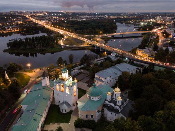 Výhled na Volhu ve Jaroslavli - Sputnik Česká republika