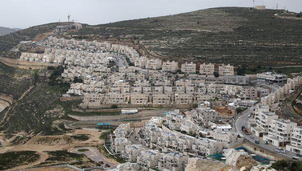Budovy na Západním břehu Jordánu - Sputnik Česká republika